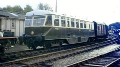 Slide 021-59 (Steve Guess) Tags: uk england train shropshire railway steam severn railcar valley gb gwr bridgnorth bewdley no22 w22w
