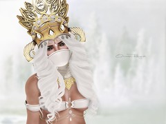 There's A Place I Like To Hide (Qween Rayna) Tags: sl secondlife muka belleza slink theforge punci littlebones bauhausmovement iheartsl fameshed theliaisoncollaborative cosmeticfair fantasygachacarnival