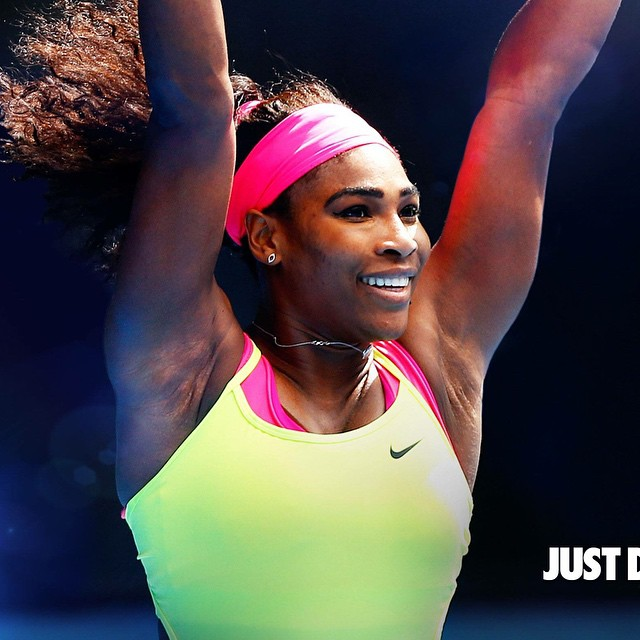 2015 Australian Open Champion Serena Williams 6th title, 19th Grand Slam. #legendofthecourts