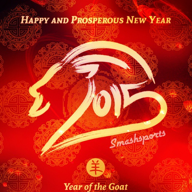 Smashsports would like to wish everyone Happy Chinese New year!  #CNY #chinesenewyear #2015 #smashsports #aerotek
