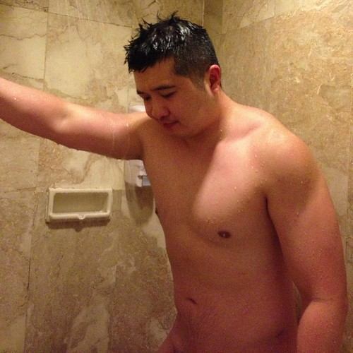 Hunk shower