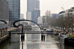 'Ibisbrug' Rotterdam (FaceMePLS) Tags: bridge rotterdam footbridge nederland thenetherlands streetphotography pedestrianbridge straatfotografie voetgangersbrug facemepls