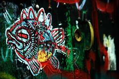 como pez... donde quieras... (ALXM_) Tags: door fish pez colors puerta grafitti grafiti colores mirada