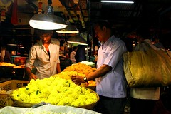 Dadar Flower Market / 9 (mariannaF) Tags: city travel flowers india flower asia market culture streetphotography documentary explore bombay mumbai flowermarket wholesale reportage dadar southasia travelphotography