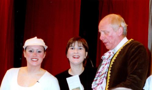 1999 Cinderella 01 (from left x, Sally Capp, Ken Fielding)