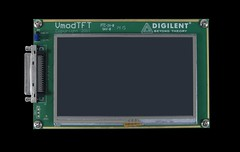 VmodTFT: Color LCD Touchscreen (Digilent, Inc.) Tags: color analog hardware student display board touch screen device io resolution temperature professor lcd electronic maker input output tft sensor touchscreen devices connector pwm fpga hobbyist digitizer 480x272 digilent antiglare 80hz vmod ledbacklit vhdci 24bpp vmodtft