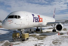 N961FD FedEx Express 757-2Y0 at KCLE (GeorgeM757) Tags: airplane airport aircraft aviation cargo freigh