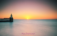 Lighthouses are more useful than churches (Stu Patterson) Tags: lighthouse seascape sunrise stu northumberland patterson blyth