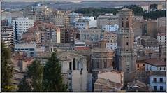 Tudela . Navarra. (Miguel. (respenda)) Tags: arquitectura edificio catedral ciudad silueta ebro tejado airelibre tudela crecidadelebro