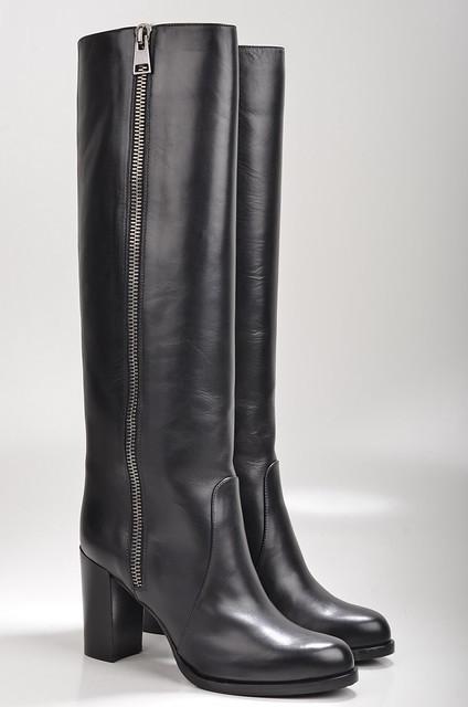 mit absatz schwarz caravelle stiefel g134 damenstiefel kalbsleder