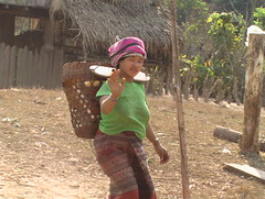 Laotian Hill Tribe Woman
