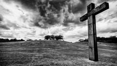 Skogskyrkogården / The Woodland Cemetery (Subdive) Tags: cross sweden stockholm cemetary skogskyrkogården thewoodlandcemetery