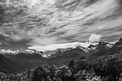 enjoying the view (i.v.a.n.k.a) Tags: new white black mountains alps nature landscape island lights scenery sony south hills southern zealand alpha ivana hesova