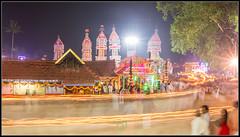 Thalappoli trails |  (Jogesh S) Tags: india blur festival canon temple kerala motionblur approved lighttrails keralam 6d adoor keralaphotos canonef1635mmf28liiusm ulsavam canonef1635f28lii thalappoli thookkam   ezhamkulam   ezhamkulamthookkam
