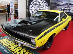 Plymouth 'Cuda AAR clone 1970 (Zappadong) Tags: auto classic car essen automobile plymouth voiture coche classics techno oldtimer gran 1970 clone cuda oldie barracuda carshow aar coup youngtimer 2016 automobil classica oldtimertreffen zappadong
