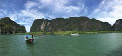 Panorama Province Phang nga - Thalande (bobpado) Tags: bateau mer thalande asie voyage