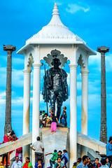 Gandhi Memorial Statue (wandercrumbs) Tags: gandhi memorial statue rock beach pondicherry puducherry