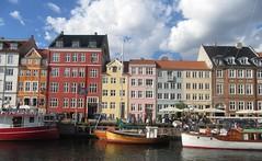 Old Nyhavn - II (cohodas208c) Tags: nyhavn copenhagen canal harbor ships colorful restaurants entertainmentdistrict kingchristianv
