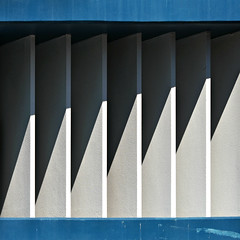 (SteffenTuck) Tags: outdoor shadow urban lines diagonal steffentuck built architecture blades fins contemporary abstract minimal