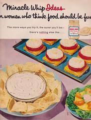 Miracle Whip 1958 (moogirl2) Tags: vintage retro 1958 50s 50sstyle miraclewhip vintageads retrofood theamericanhome 50sfood