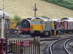 CVR 68030,33102 SOPHIE, 14901 & BRIGHTHOUSE (johnwebb292) Tags: steam diesel 68030 hunslet 3777 class 33 33102 sophie 14 14901 brightside churnet