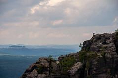 Gipfelstrmer (Zeitsklave) Tags: nikon d90 zeitsklave schsische schweiz elbsandstein klettern knigstein