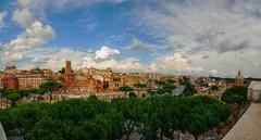 PanoImperiali_HDR (ansacariofoto) Tags: italy panorama rome roma clouds nuvole hdr vittoriano lovelycity atx116prodx tokina1116 nikond5000
