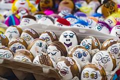 Egg-cellent (SalvagedStitch) Tags: fiesta2016 santabarbara mexicanfiesta confettieggs paintedeggs eggshells colorful