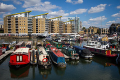 The Cut to the Thames August 2016 (7 of 42) (johnlinford) Tags: canal canon canonefs1022 canoneos7d docklands limehouse london marina uk urban landscape