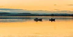 Calm-water_DSC5740 (Mel Gray) Tags: lakemacquarie lake water boat sunset australia newsouthwales