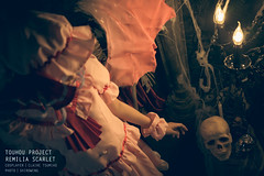 Touhou Project - Remilia Scarlet (ShiroWengPhotography) Tags: light portrait game anime japan scarlet dark photography cosplay culture malaysia animation kuala cosplayer cos element lumpur 2016 remilia tamashii shiroweng costamashii