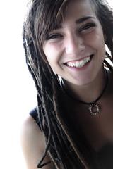 Francina (Lorenzo Pirotto) Tags: ritratto faccia face volto girl ragazza fuji donna portrait capelli dred rasta teen vintage