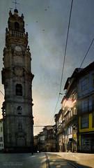 its secret (silviaON) Tags: city outdoor portugal porto torredosclrigos caminhoportugues textured kerstinfrankart distressedtextures