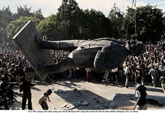 0000266708-011 (ngao5) Tags: africa portrait people sculpture motion male men history monument statue standing rebel one war european control adult action many fineart authority crowd group oppression fulllength visualarts demolition communism civilwar stepping sling soviet metalwork rebellion prominentpersons change government tall publicart ethiopia russian militant addisababa groupofpeople civildisobedience leadership marxism oneperson civilian hornofafrica colossus ethiopian dominating coupdetat eastafrican bronzesculpture removing politicalandsocialissues urbanscene reformers politicalparty civilconflict easternafrica largegroupofpeople caucasianethnicity africanethnicity ethiopiancivilwar19781991 ethiopianhistoricalevents africanculture vladimirilichlenin easterneuropeandescent easterneuropeanculture nativeafricanethnicity