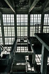_O7A8956 (AntonyCASAFilms) Tags: urban abandoned monochrome concrete 3d factory belgium exploring plan marshall maze coal escher exploration derelict washing ue urbex