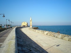 Caorle (attilaboros86) Tags: sea italy church promenade caorle