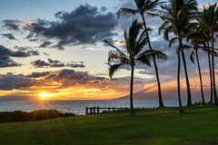 Andaz Sunset (Foto Fresh) Tags: ocean travel sunset mountains beach colors beautiful landscape hawaii google sony creative maui resort palmtrees fe colorefex a7r andaz emount a7rii caseycolomb