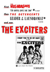 1964 exciters i want you to be my baby (Al Q) Tags: 1964 exciters want you be baby roulette records hullaballoos detergents