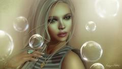 Don't burst my Bubble (Kaize Topaz) Tags: photoshop portraits artwork digital secondlife people art expression