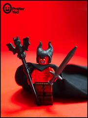 Purest Darkness (Praiter Yed) Tags: legosatan legodevil nexoknights legopuristcustomminifig lordofdarkness timcurry ridleyscott legend