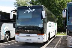 Aziz AAZ 7519 (johnmorris13) Tags: aziz aaz7519 scania vanhool coach