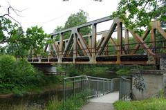 Railwaybridge (rotabaga) Tags: sverige sweden värnamo lagan bridge bro pentax k5