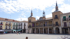 2016-8203 El Burgo de Osma - Plaza Mayor (Wolfgang Appel) Tags: wolfgappel spanien spain espana soria elburgodeosma burgodeosma plazamayor