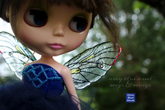 Fairy wings (NavyBlueNavel) Tags: airy wings fairywings blythe bjd navybluenavel