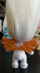 angel hop wings (meimi132) Tags: angelhop angel bunbun rabbit zelf zelfs series6 golden gold wings