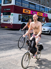 World Naked Bike Ride 2016-142 (KirkmouseMedia) Tags: bicycle edinburgh wnbr cycling