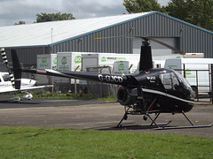 G-GJCD Robinson 22 Helicopter (Aircaft @ Gloucestershire Airport By James) Tags: gloucestershire airport ggjcd robinson r22 helicopter egbj james lloyds