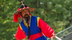 Korean Festival (Bill Anderson :-)) Tags: andongchajeonnori chariotbattleofandong performer koreanfestival swangardstadium burnaby britishcolumbia