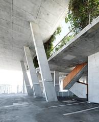 How to green a concrete structure... #herzogdemeuron #1111lincoln (Dan Hogman) Tags: architect architecture danhogman danhogmanphotography danhogmancom florida miami unitedstates usa herzogdemeuron