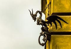 Gargoyle, Siena (Arutemu) Tags: 6d canon eos6d eu europe italia italy siena tamron tamron28300 toscana tuscany medieval renaissance zoom it gargoyle sculpture
